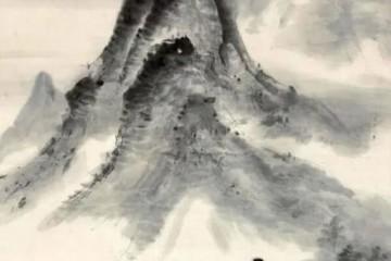 吴镜汀国画著作赏识