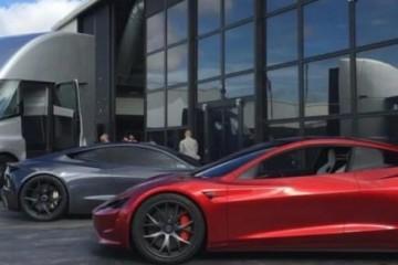 马斯克搭载SpaceX推进器的Roadster跑车堪比007座驾
